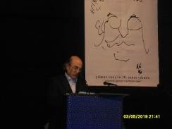 Yılmaz Onay 50. Sanat Yılı Kutlaması'nda, Muammer Karaca Tiyatrosu, Fotoğraf: Cansu Fırıncı